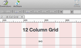 960 Grid System in Axure